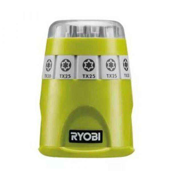 Ryobi RAK10TSD - 10ks sada šroubovacích bitů Torx