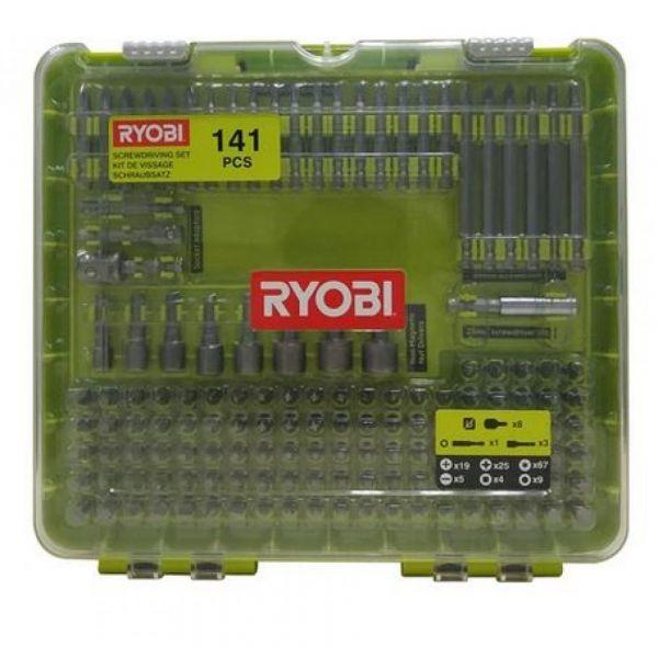 Ryobi RAKD141 - 141ks šroubovacích bitů
