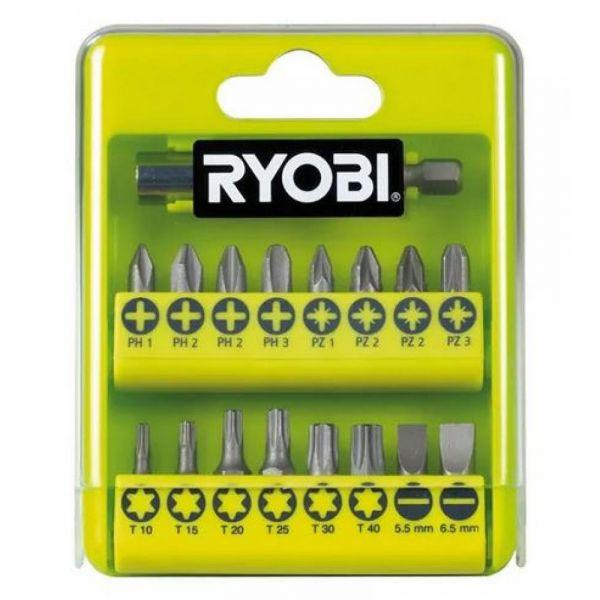 Ryobi RAK17SD - 17ks sada šroubovacích bitů