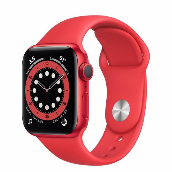 Apple Watch Series 6 40mm (PRODUCT) RED se sportovním řemínkem
