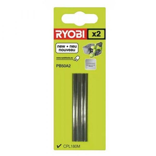Ryobi PB50A2 - 2ks sada 50mm nožů do hoblíku
