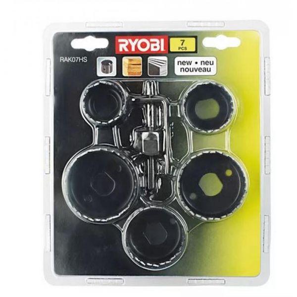 Ryobi RAK07HS - 7ks sada pilových plátků do děrovky