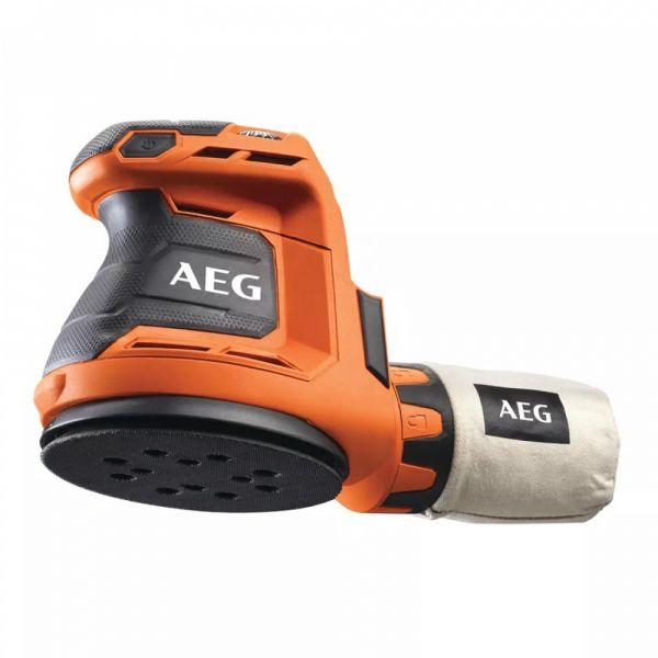 AEG BEX 18-125-0 - 18V Excentrická bruska