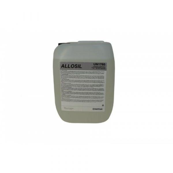 ALLOSIL SV1 10 l - Tekutý. mírně alkalický a lehce pěnivý prací prostředek pro mytí v místech. kde jsou oleje