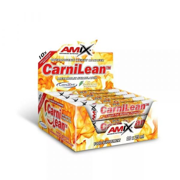 Amix CarniLean 10x25ml - Fresh Lime