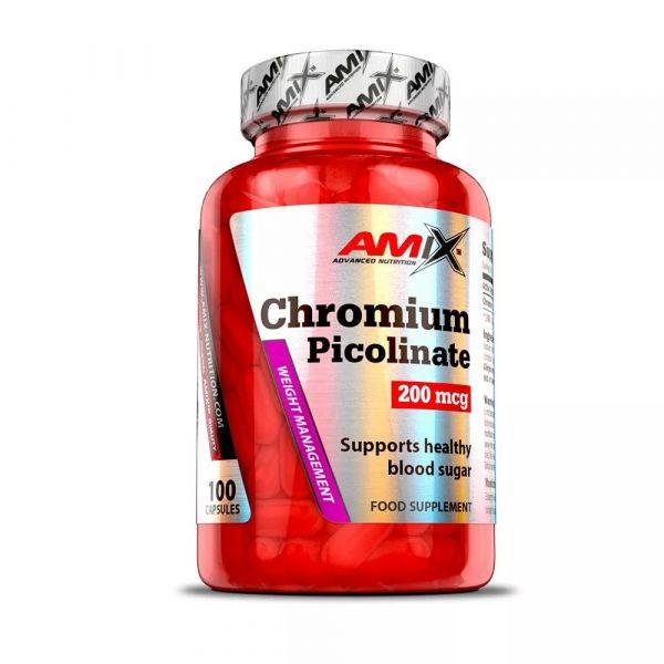 Amix Chromium Picolinate 200mcg 100cps