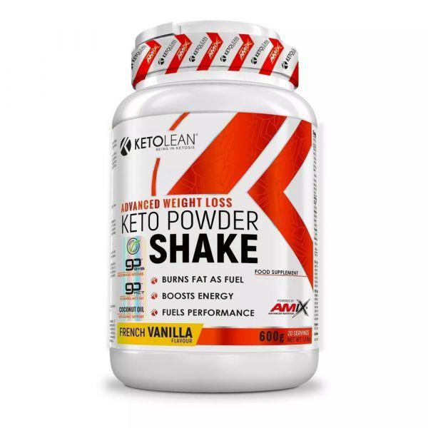 Amix KetoLean Keto goBHB Powder Shake 600g - French Vanilla