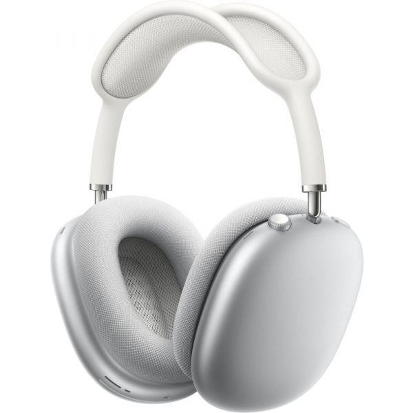 Apple AirPods Max bezdrátová sluchátka stříbrná