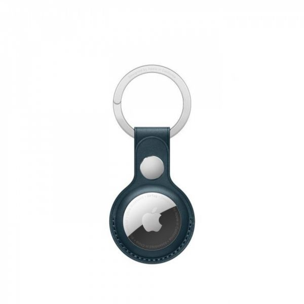 Apple AirTag kožená klíčenka baltsky modrá