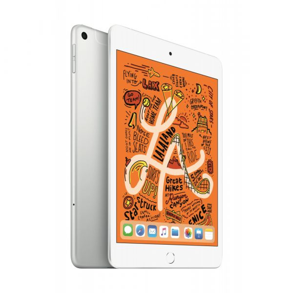 Apple iPad mini 64GB Wi-Fi + Cellular stříbrný (2019)