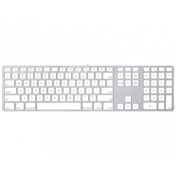 Apple Magic Keyboard s číselnou klávesnicí stříbrná - česká