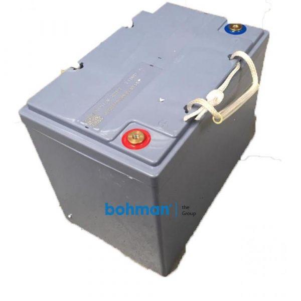 Baterie 12V 80A pro podlahový mycí stroj Bohman 3 B MR19