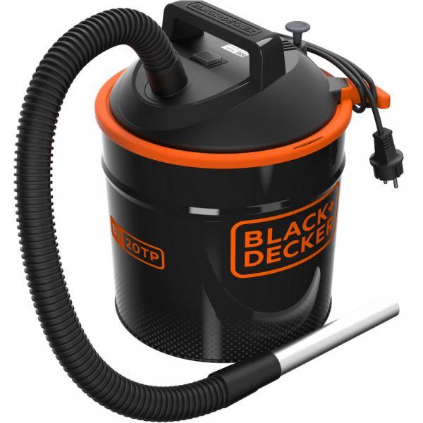 Black & Decker BXVC20TPE - vysavač popela s mech. oklepem filtru