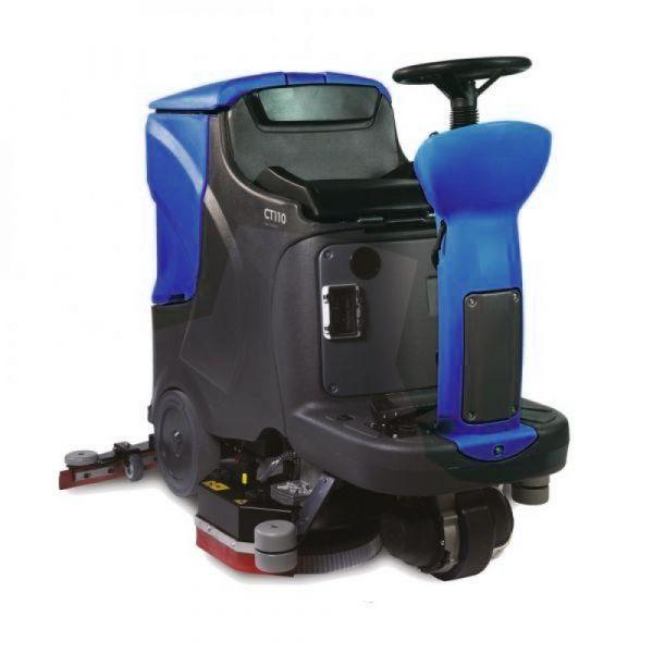 Bohman 7 BR 70 - podlahový mycí stroj s odsáváním bateriový se sedicí obsluhou