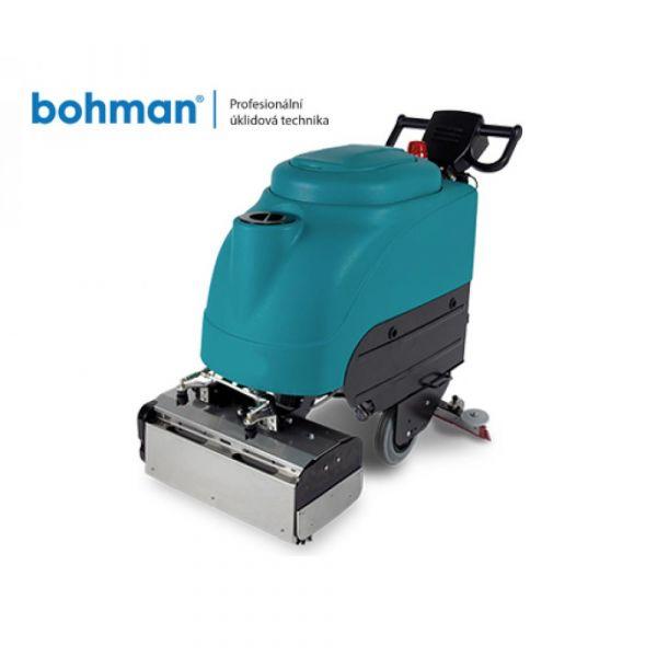 Bohman Escalator 50 - čisticí stroj na eskalátory a jezdící schody