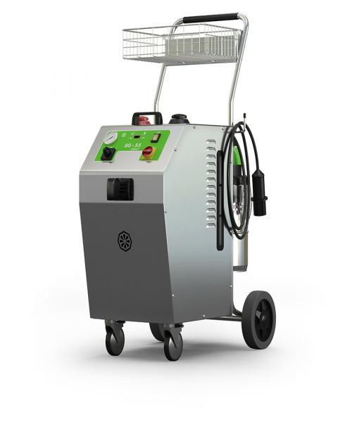 IPC SG-55 8025 T parní čistič s odsáváním a výkonem 10,4 kW