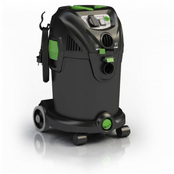 IPC Soteco NRG 1/30 CLEAN P TC SL PT vysavač pro mokré a suché vysávání s poloautomatickým čištěním filtru. automatickou zásuvkou  a regulací výkonu