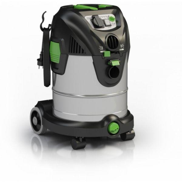 IPC Soteco NRG 1/30 CLEAN S TC SL PT vysavač pro mokré a suché vysávání s poloautomatickým čištěním filtru. automatickou zásuvkou  a regulací výkonu