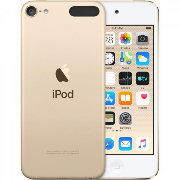 iPod touch (7gen) 256GB - zlatý