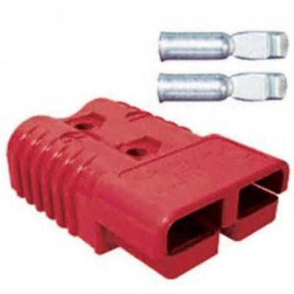 Konektor CB 175A 79.4x25.4mm červený