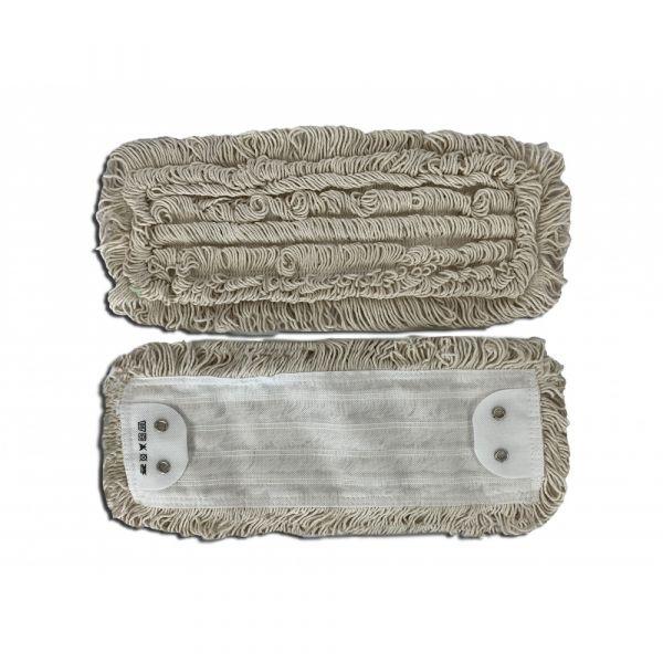 Mopman bavlněný plochý mop BASIC 40 cm jazykový s 2 dírkami