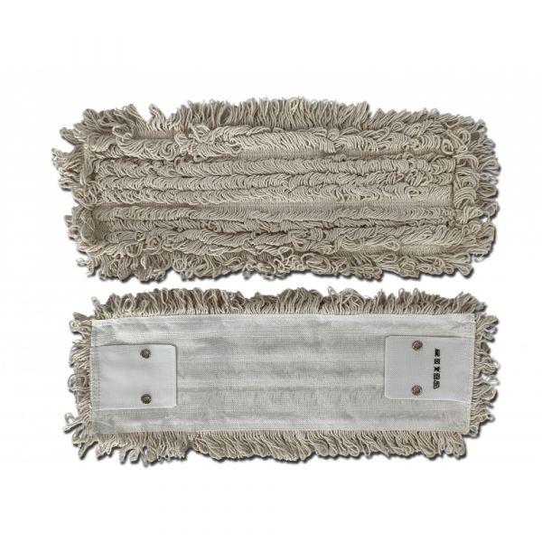 Mopman bavlněný plochý mop BASIC kapsový s 2 dírkami 50 cm