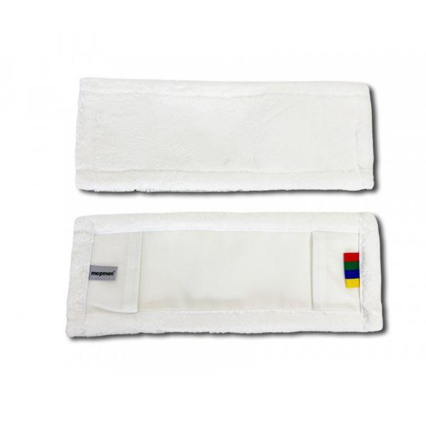 Mopman SNOW mop z mikrovlákna bílý kapsový pro držák 40 cm