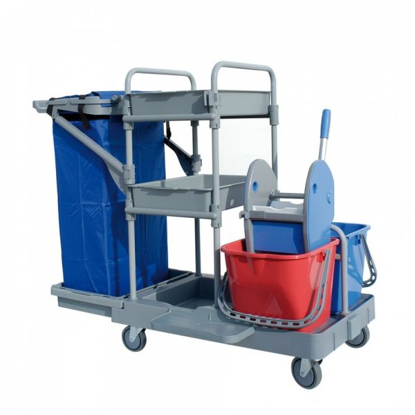 MOPMAN TRACY 102  - úklidový a servisní vozík