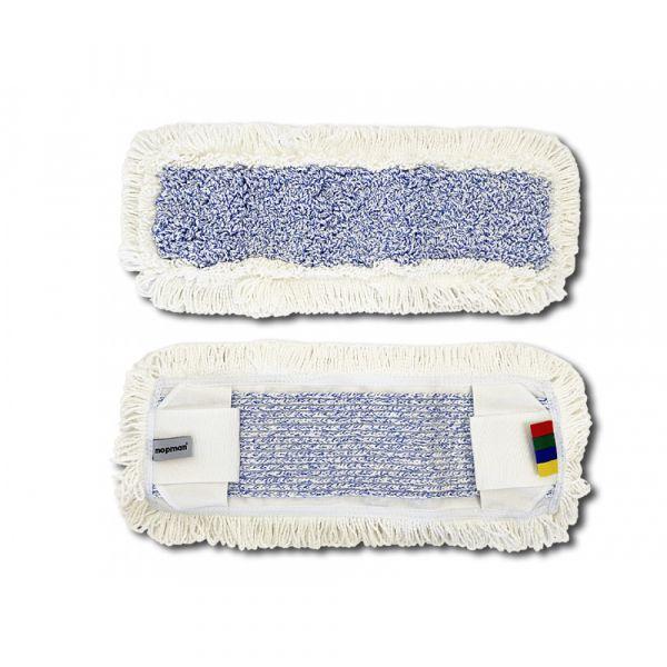 Mopman všívaný mop z mikrovlákna PROFI kapsový s jazyky pro držák 40 cm 75 ks