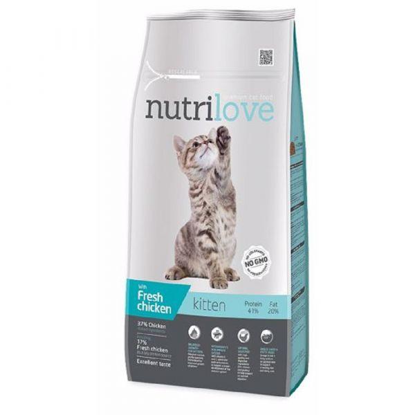 Nutrilove granule FM koc Kitten kuřecí 1.4kg
