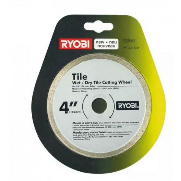 Ryobi TSBA1 - 102mm diamantový kotouč pro řezačku na dlažbu a obklady