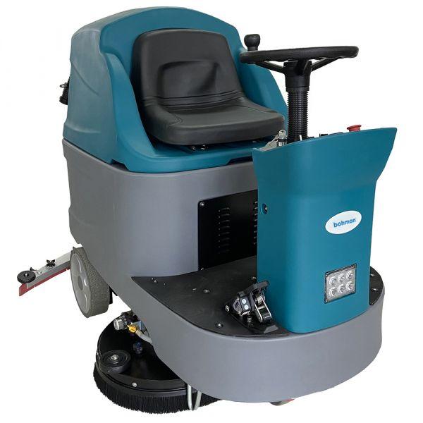 Podlahový mycí stroj bateriový se sedicí obsluhou Bohman 9 BR 96