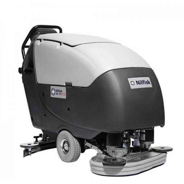Nilfisk BA 651 s nabíječkou podlahový mycí stroj