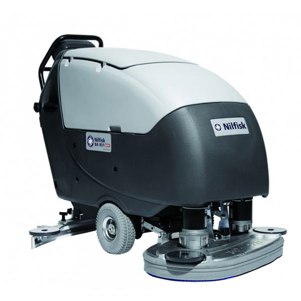 Podlahový mycí stroj Nilfisk BA 851 s nabíječkou