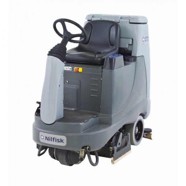 Nilfisk BR 755 C (válcový kartáč) podlahový mycí stroj se sedící obsluhou