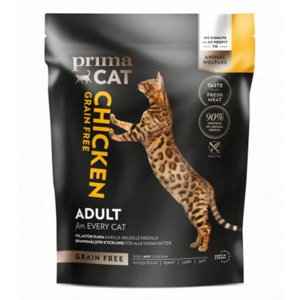 PrimaCat Kuře. bez obilovin. pro dospělé kočky 400 g