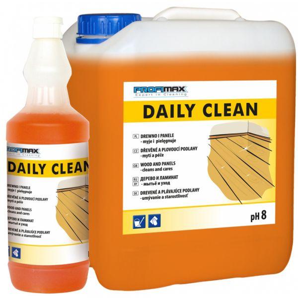 PROFIMAX DAILY CLEAN (speciální čistič) - PLOVOUCÍ a DŘEVĚNÉ PODLAHY 1 litr