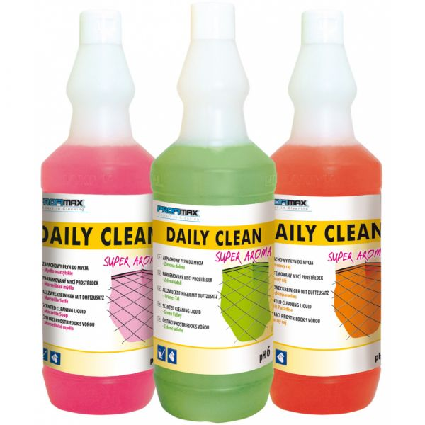 PROFIMAX DAILY CLEAN SUPER AROMA 3v1 Marseillské mýdlo 1 litr
