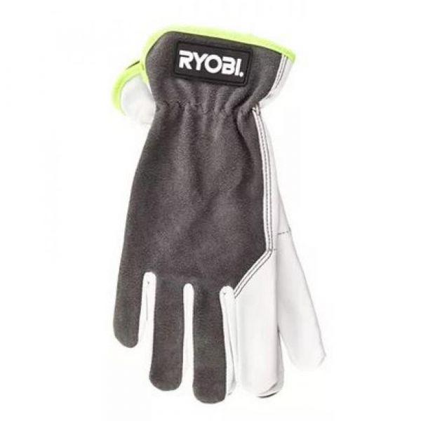 RYOBI kožené rukavice  velikost L