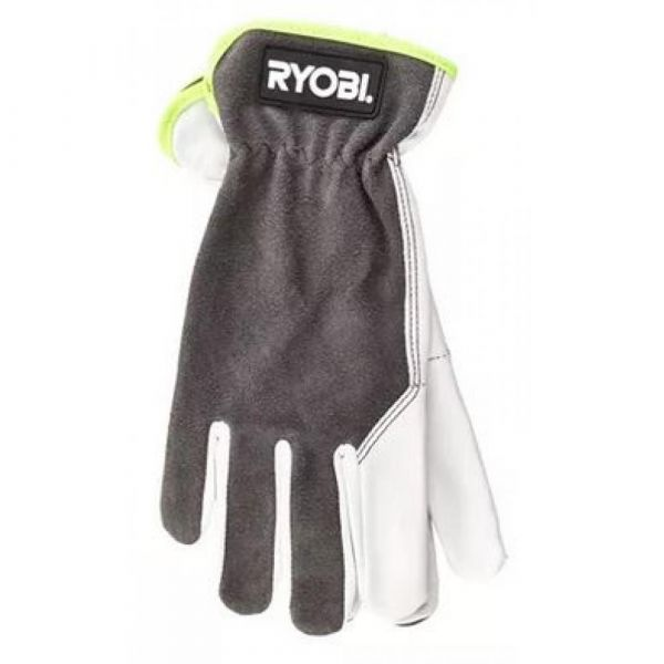 RYOBI kožené rukavice  velikost M