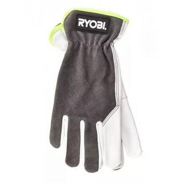 RYOBI kožené rukavice  velikost XL