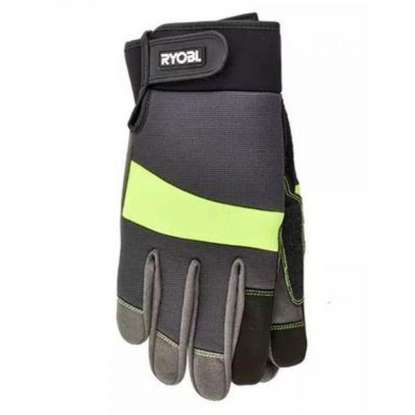 RYOBI pogumované rukavice velikost L