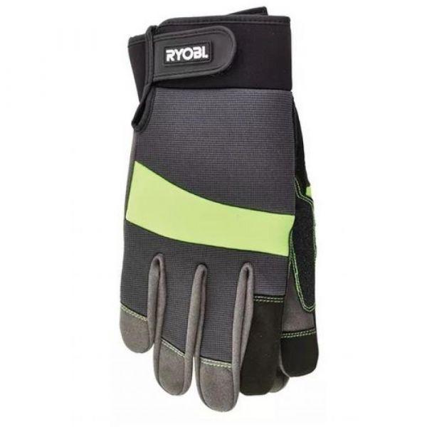 RYOBI pogumované rukavice  velikost M