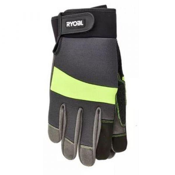RYOBI pogumované rukavice  velikost S