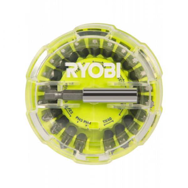 Ryobi RAK22SDHOKT - 22ks sada šroubovacích bitů