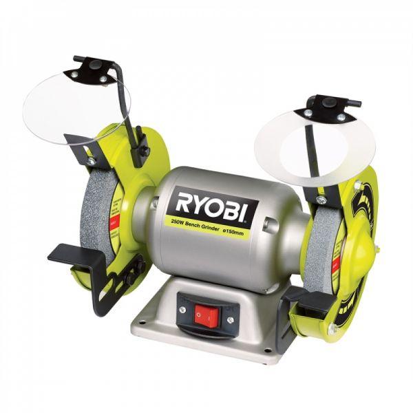 Ryobi RBG6G - 250W Stolní dvoukotoučová bruska