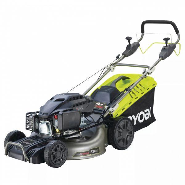 Ryobi RLM53190YV - Benzinová travní sekačka 190cm³ OHC, šířka záběru 53cm