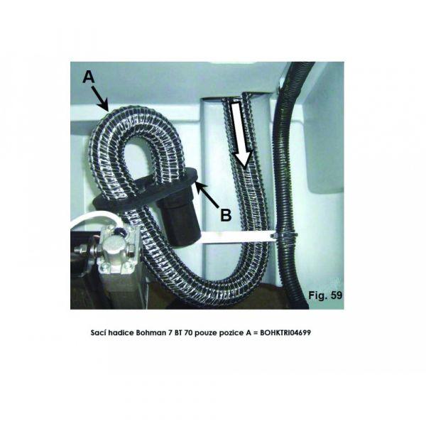 Sací hadice Bohman 7 BR 70 (IP)