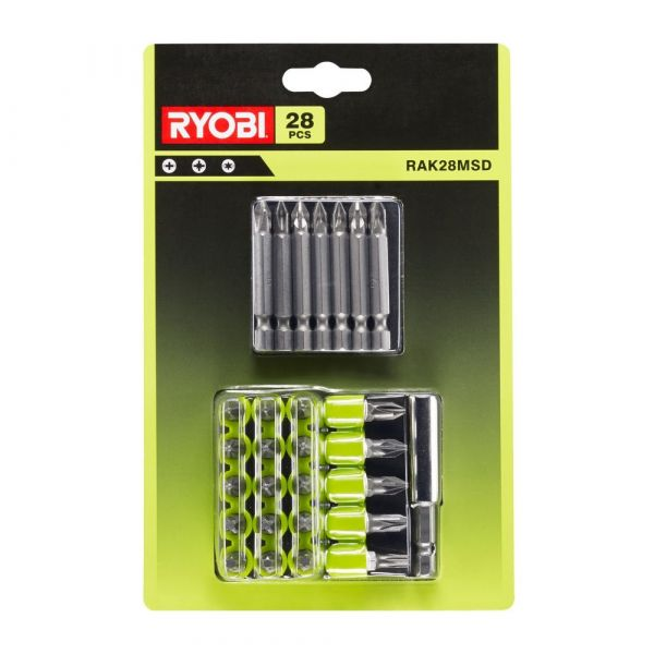 Ryobi RAK28MSD - Sada 28ks bitů