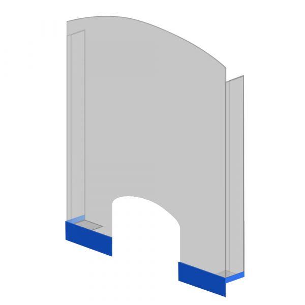 SaniFine 570951 - ochranná přepážka plexisklo